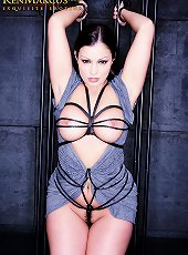 Ken Marcus.com presents Aria Giovanni - Caged
